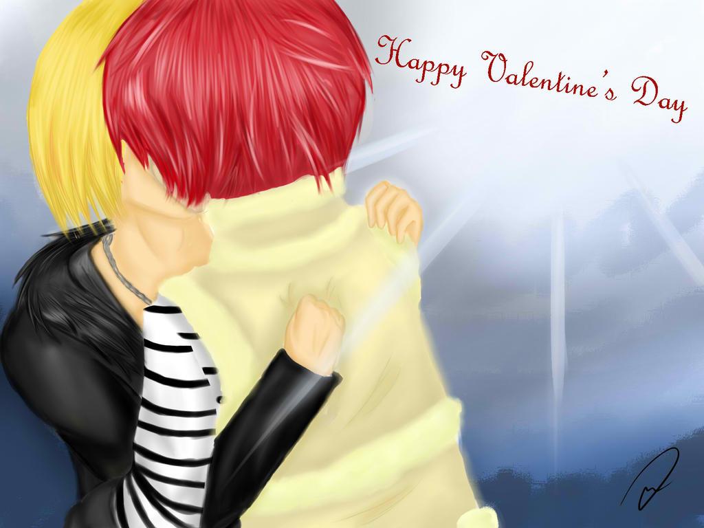 Happy Valentine's Day (^u^)v by yaya-chan220