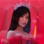 ~red queen tifa~