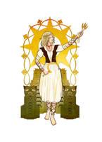 Slavic Gods - Lady Midday by Shome1