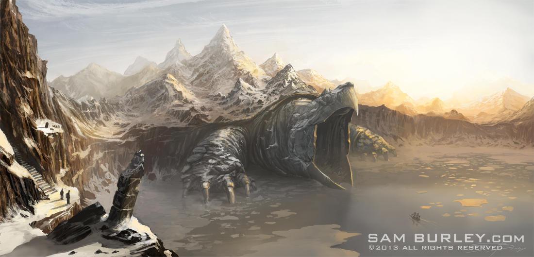 Ancient Threshold by samburley