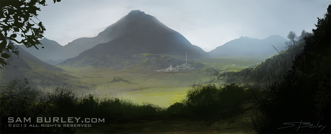 Valley by samburley