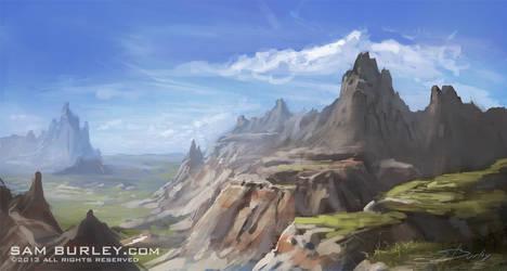 Badlands by samburley