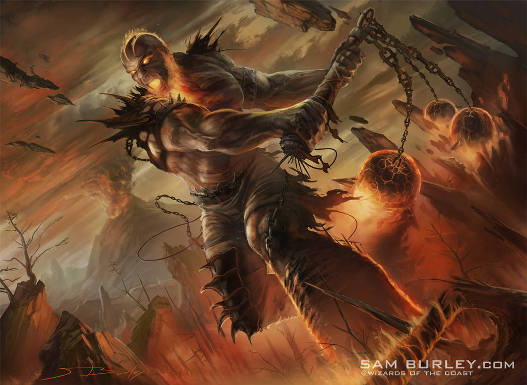 MTG: Inferno Titan by samburley
