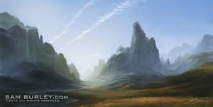 River Valley by samburley