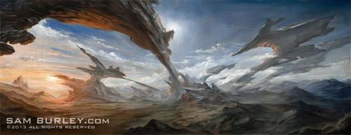 Typhun Rift by samburley