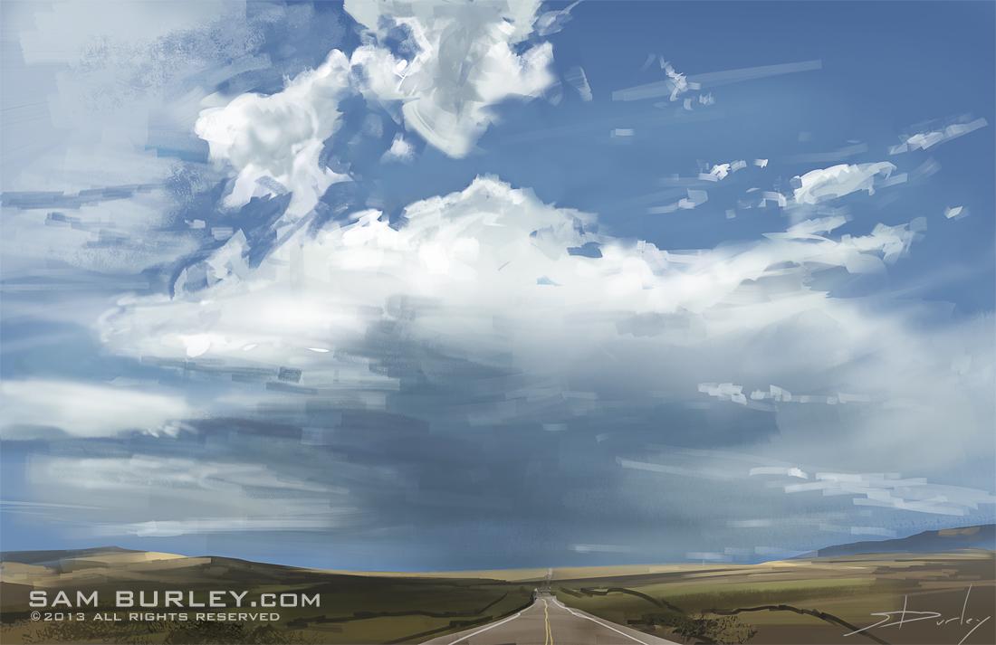 Wyoming Sky 2 by samburley