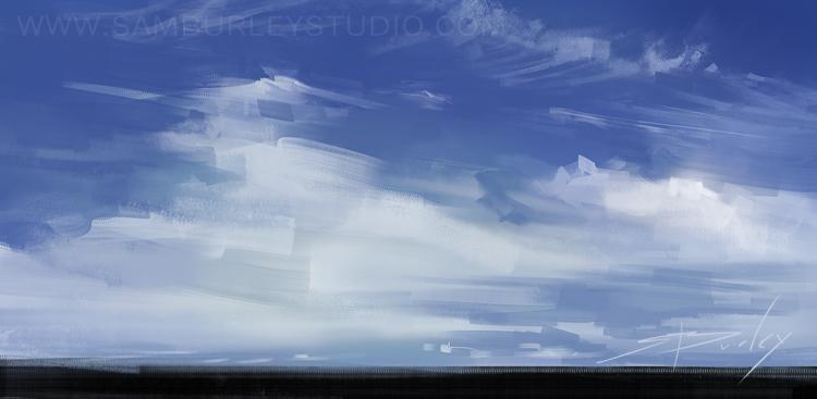 Quick Sky 02 by samburley