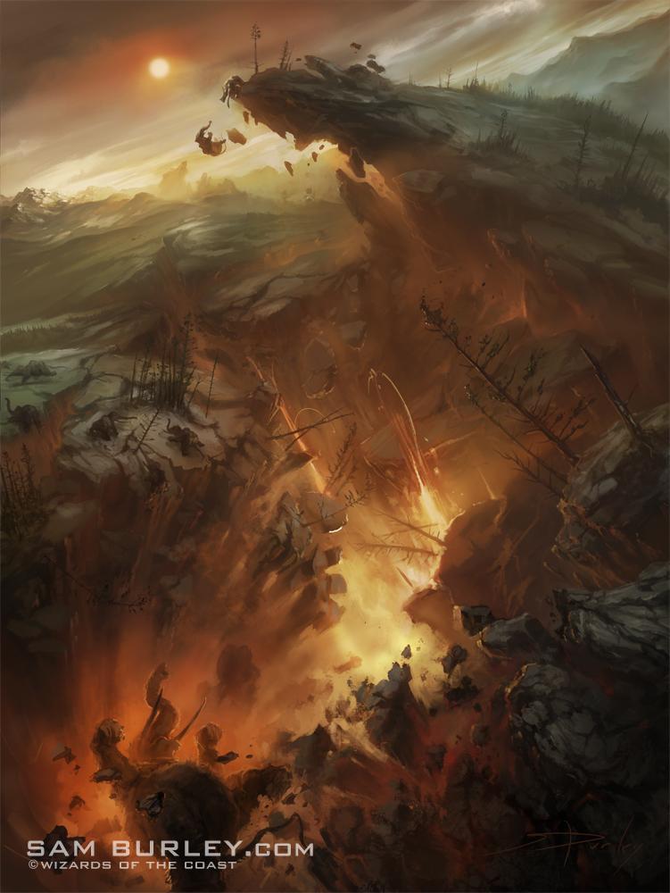 MTG: Magmaquake by samburley