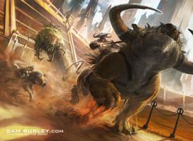 MTG: Racecourse Fury by samburley