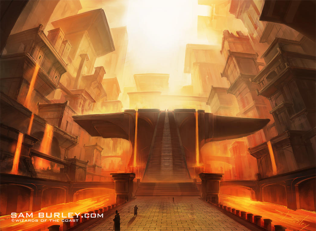 MTG: Sacred Foundry by samburley