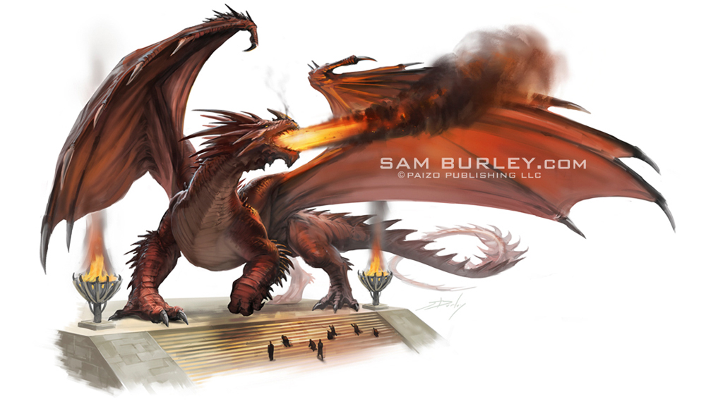 Red Dragon by samburley