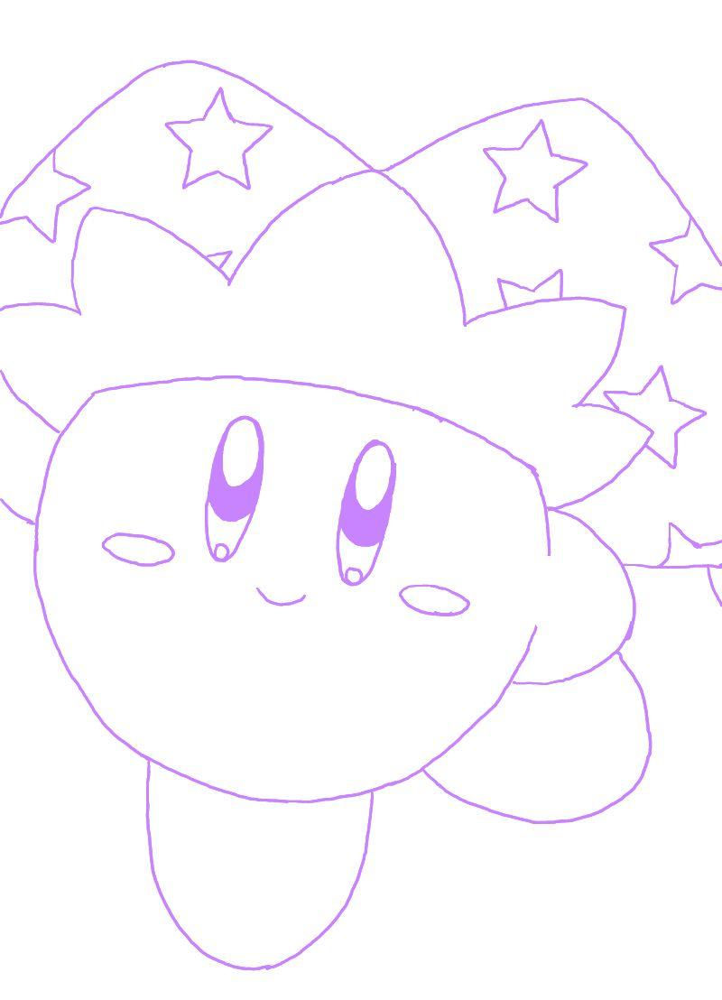 Mirror Kirby - Purple Mirror Kirby