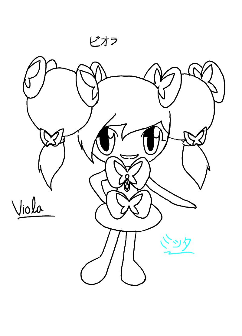 viola coloring page - viola the gothorita by muxicalm on deviantart