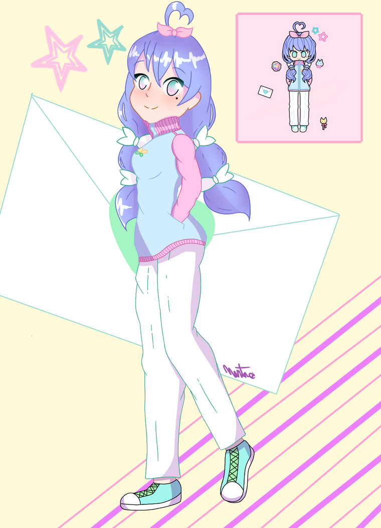 Pastel Girl Challenge by PandeeChan