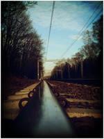 railway by okashi-pl