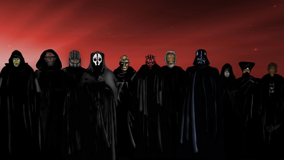The Sith Order by g45uk2 on DeviantArt
