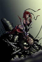 Bloodrayne by g45uk2