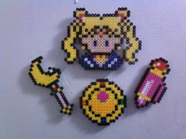 .:SailorMoon Magnet set:. by Penji