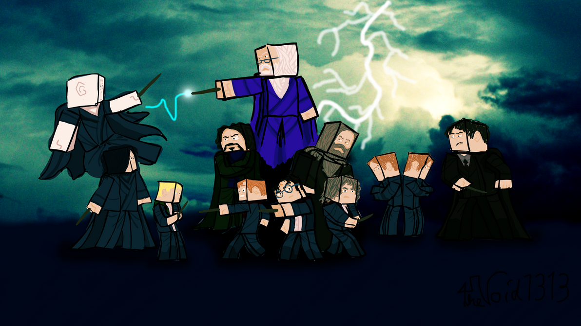 Fantastic Wallpaper Minecraft Harry Potter - harry_potter_minecraft_by_thevoid1313-d5uuhzs  Collection_939412.png