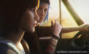 Max and Chloe by carlfabon