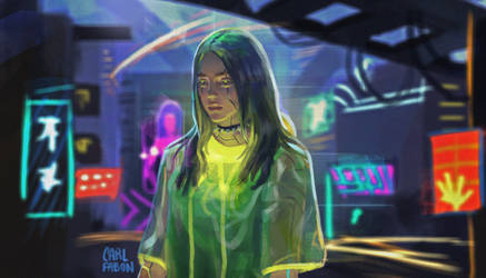Cyberpunk Billie