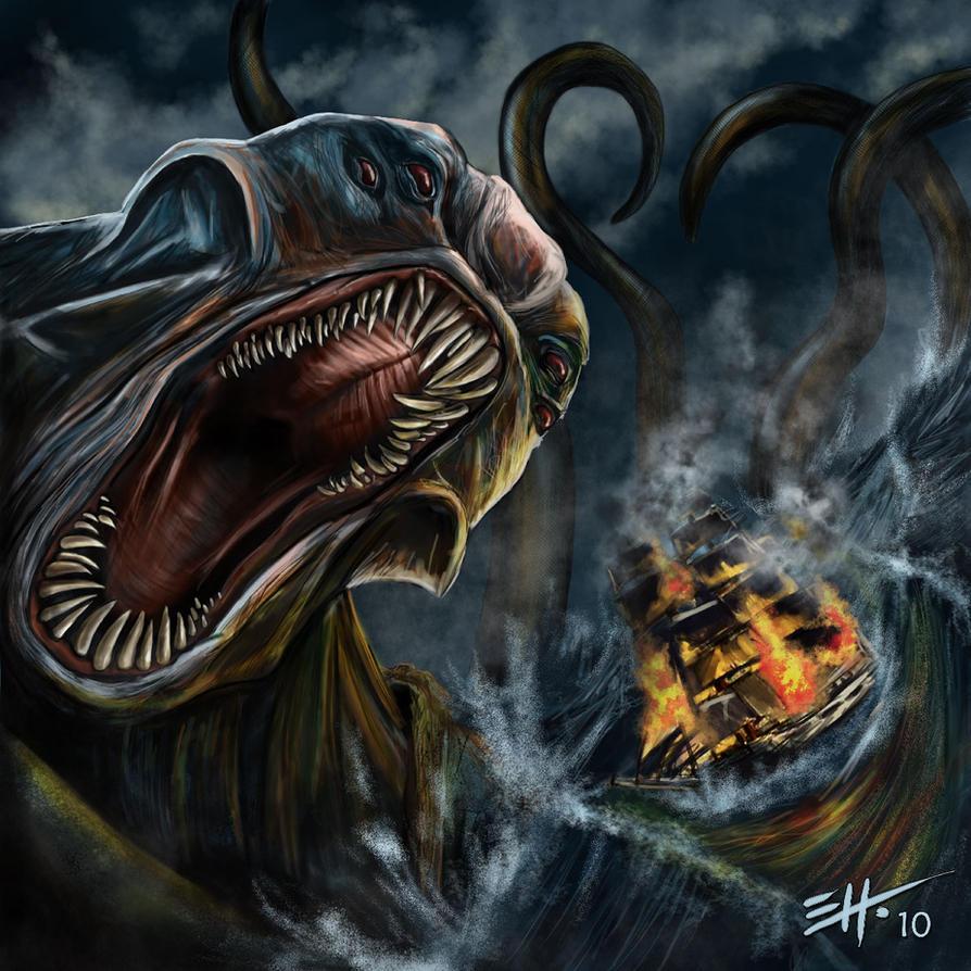 poseidon vs the kraken - photo #41