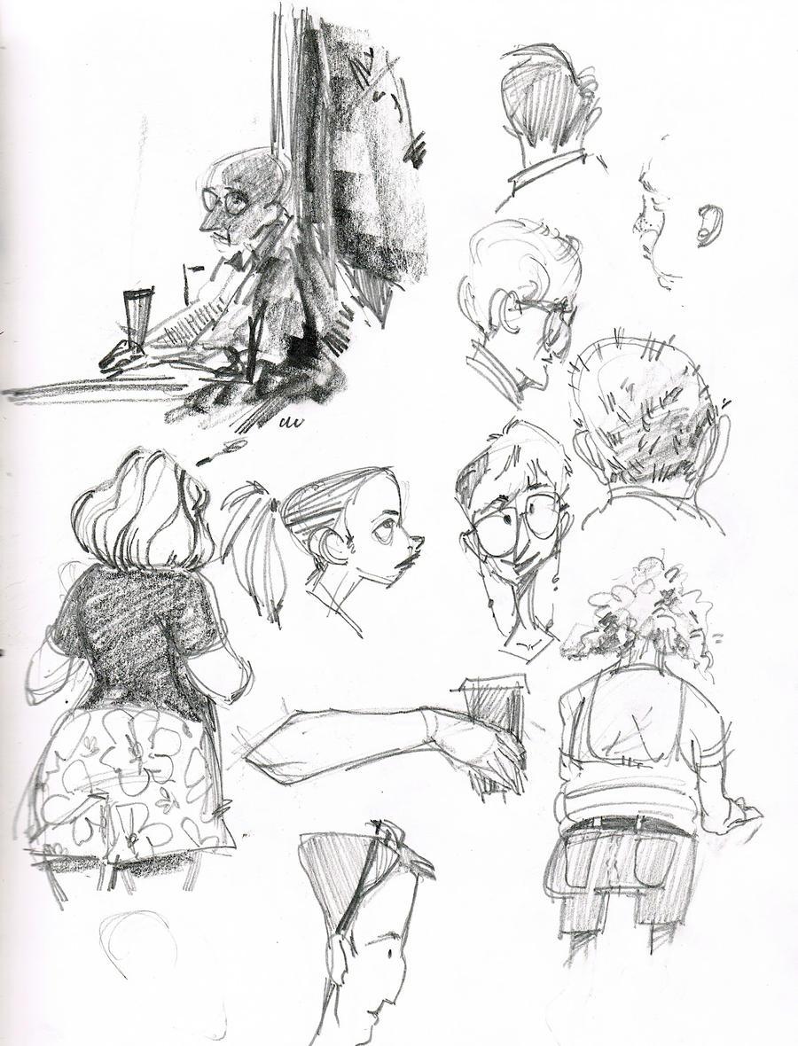Panera Sketching by AlexandraBye