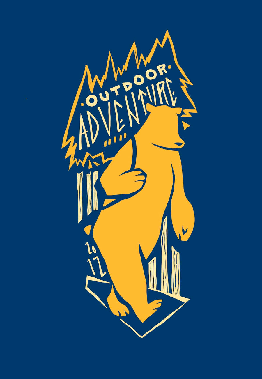 Outdoor Adventures Logo by AlexandraBye