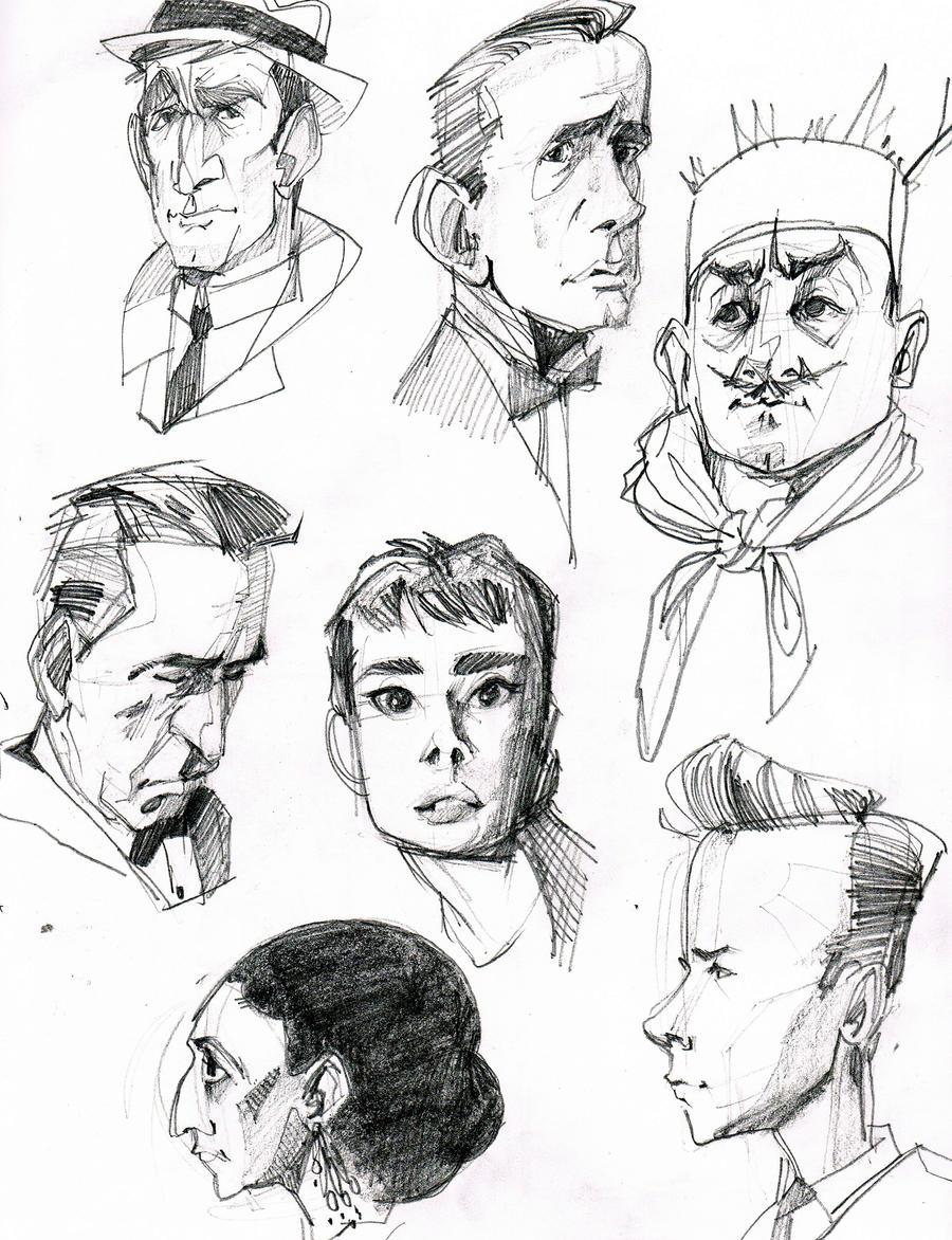 Sabrina Sketches by AlexandraBye
