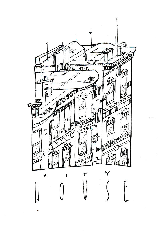 City  House by AlexandraBye