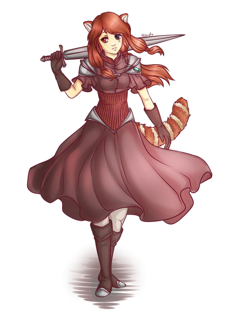 Red Panda Girl [OC Arealle] by Astral-Chan ...  sc 1 st  DeviantArt & Red Panda Girl [OC: Arealle] by Astral-Chan on DeviantArt