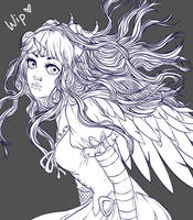 Lacrima the Pandroid - AT [WIP] by Astral-Chan
