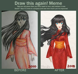 Draw this again! [Meme] #2 by Astral-Chan
