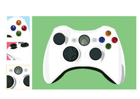 Xbox 360 Controller Vector by AJL03