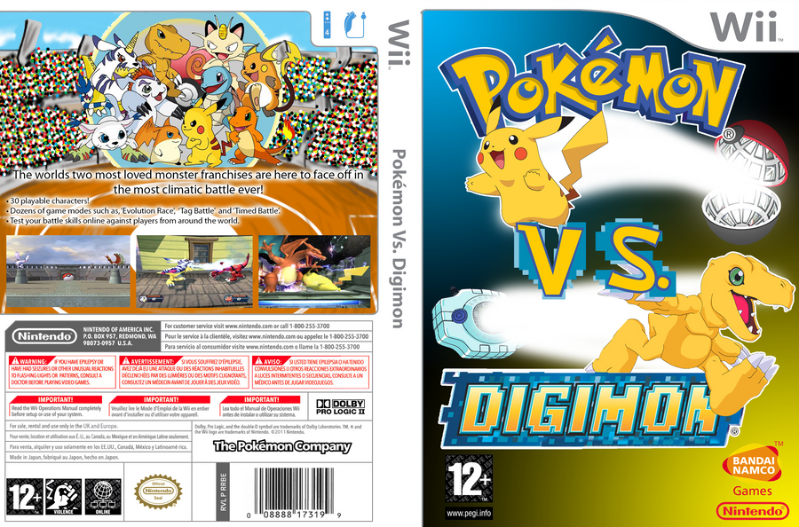 pokemon vs digimon cbtw wii u boxart by syntheticshark on