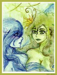 Meeting - ArtTrade by Junie-zidye