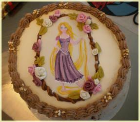 Tangled Cake by Junie-zidye