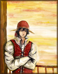 Lucas The Pirate by Junie-zidye