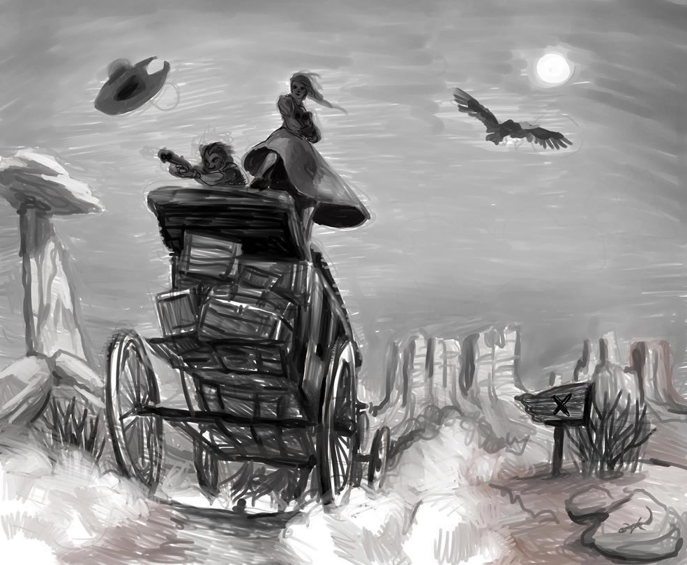 Stagecoach by ninanai