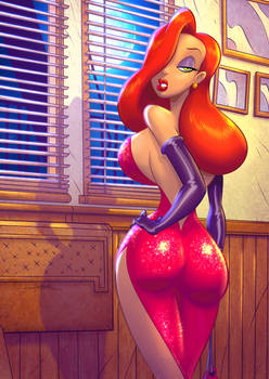 Colors: Jessica Rabbit