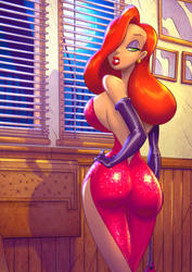 Colors: Jessica Rabbit by DREAMERiNK