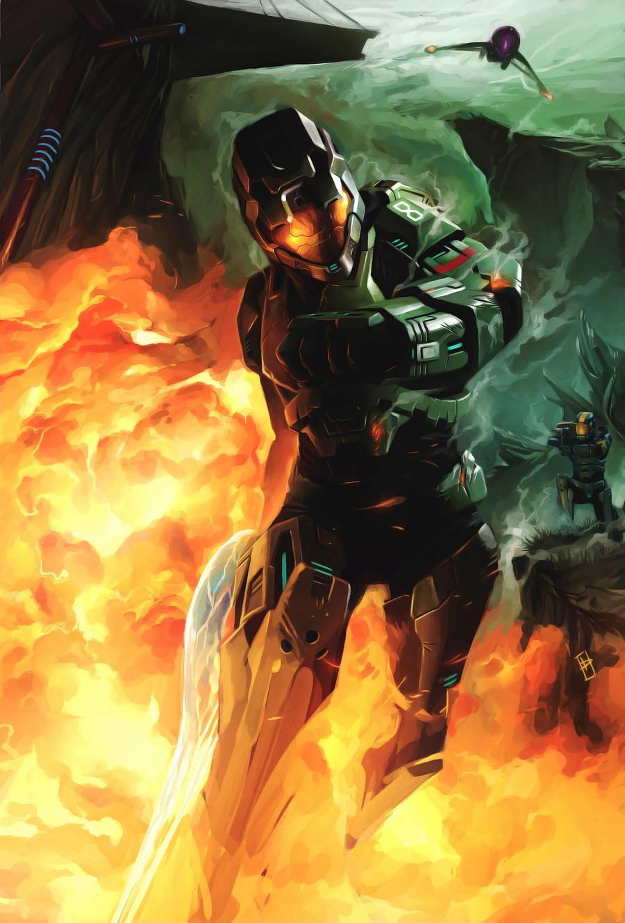 Halo - Juggernaut by Phiac-Yeu