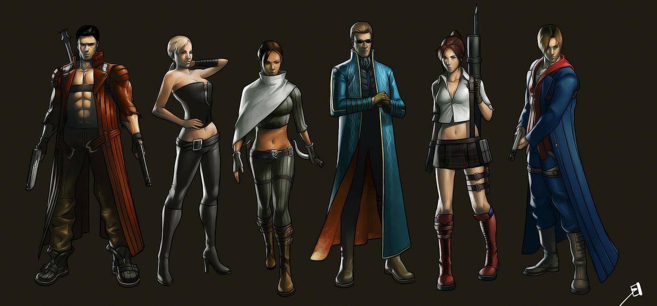 Resident Evil x Devil May Cry by Phiac-Yeu
