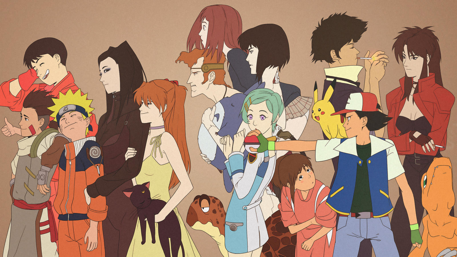 The gallery for --> Anime Base Group Of 4
