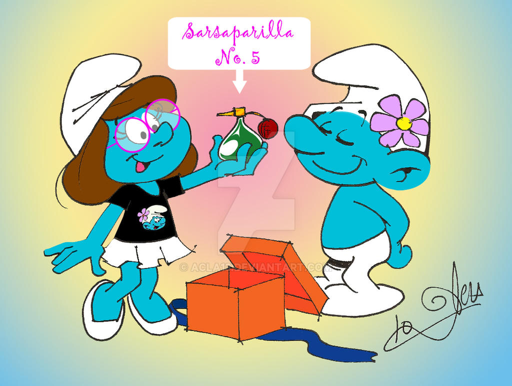Happy Birthday Cool Smurf by acla13