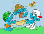 Happy Smurfy Earth Day