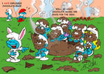 Smurf Easter Surprise