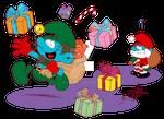 A Very Nutty Santa Helper