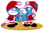 Smurfy Christmas and New Year