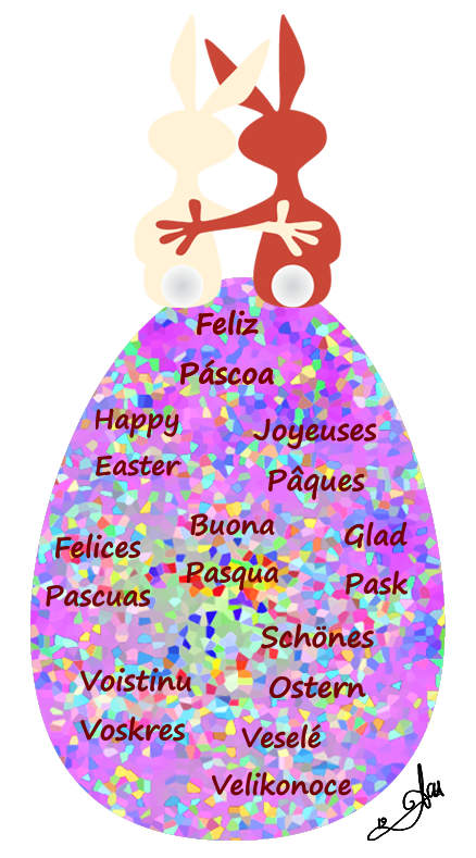 A Multilingual Happy Easter